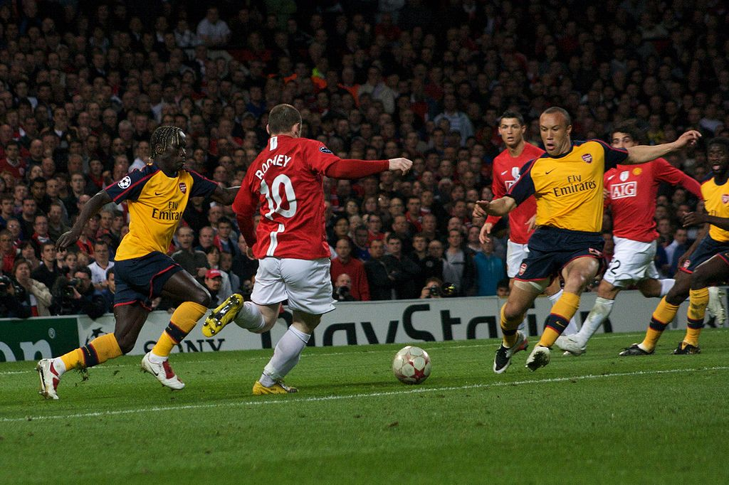 Arsenal vs. Manchester United